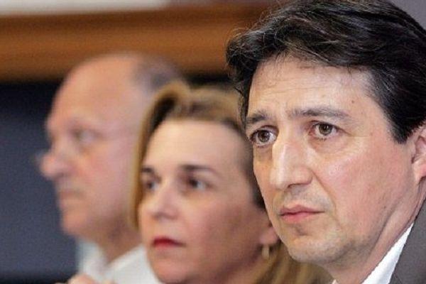 Le maire divers-droite de Castres, Pascal Bugis