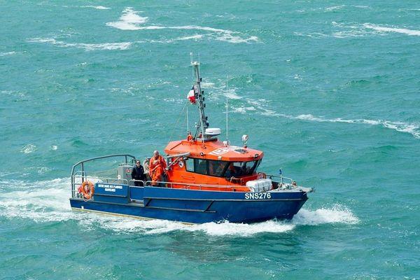 La vedette Notre-Dame des Flandres de la station de la société nationale de sauvetage en mer (SNSM) de Gravelines.