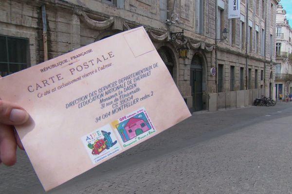 Mobilisation inédite des parents d'élèves de Baillargues par l'intermédiaire de la Poste.