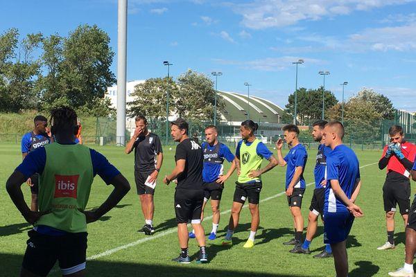 Les joueurs de l'USLD à Malo-les-Bains.