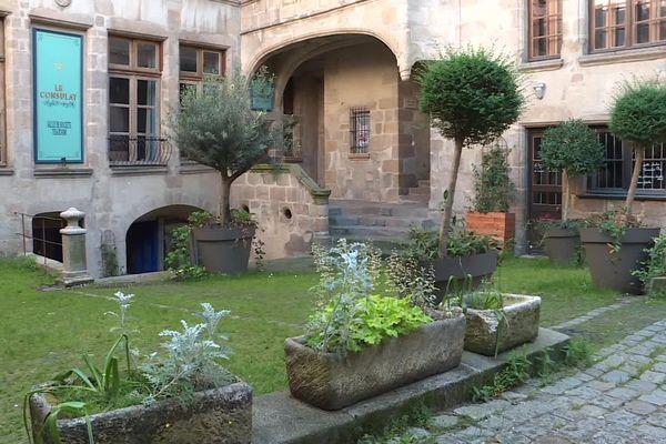 Cour du Temple à Limoges, dernière semaine de confinement