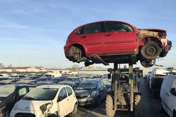 Effet prime : recyclage en hausse dans le secteur des casses automobiles