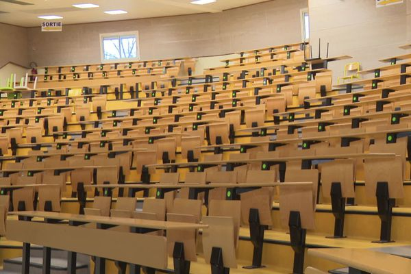 Les amphithéâtres désespérément vides de l'université de Limoges