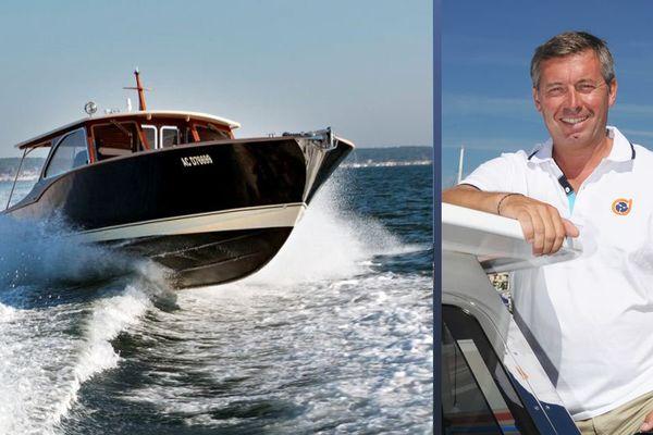 Emmanuel Martin, propriétaire du chantier naval Dubourdieu à Gujan Mestras et président de l'Union des professionnels du nautisme du bassin d'Arcachon