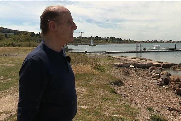 A 80 ans, Roger Citerici a décidé de se lancer un défi : traverser l'étang de Thau à la nage.