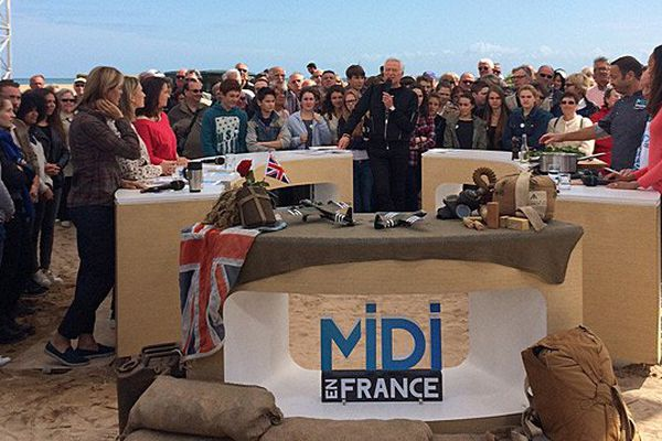 Midi en France en direct de Ouistreham (Calvados) le 1er juin 2015
