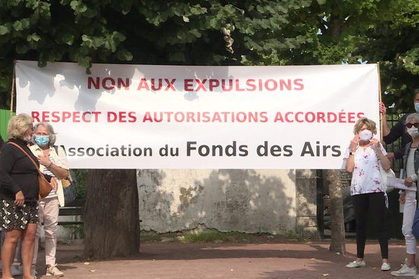L'association du Fonds des Air lutte depuis 2016 contre l'expulsion de mobil-homes installés sur des parcelles privées.