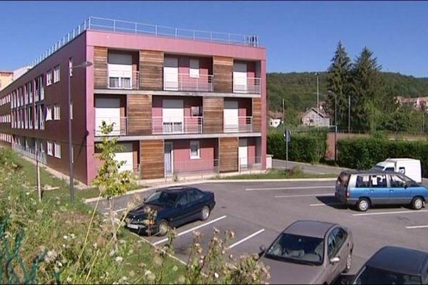 La résidence Adoma, avenue du château d'eau à Belfort