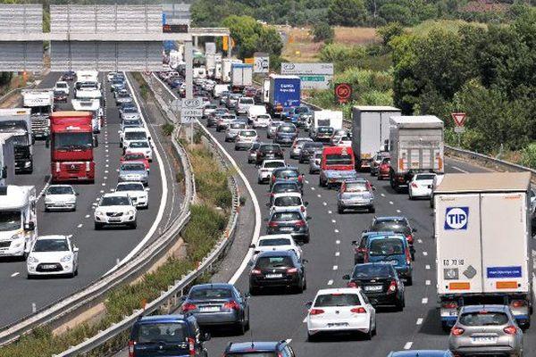 Dans les Pays de la Loire, les plus grosses difficultés sont attendues lundi, sur l'A11 (Archives).