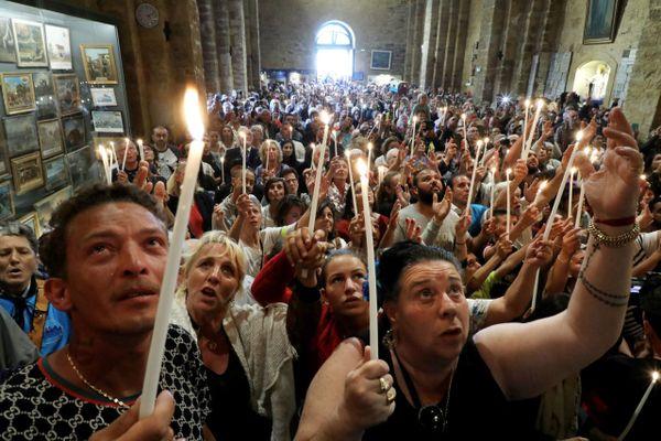 Le pélerinage avait attiré des foules aux Saintes-Maries en 2019, mais c'était dans le monde d'avant.