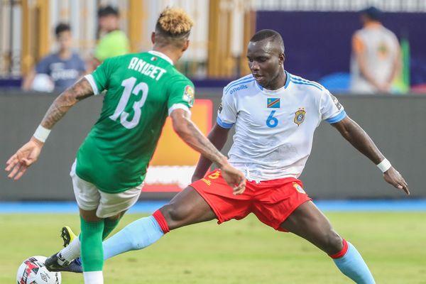 Chadrac Akolo a disputé la Coupe d'Afrique des nations avec la sélection congolaise