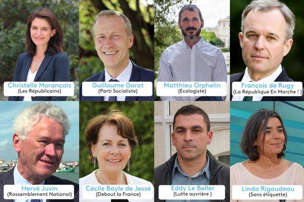 Les candidats pour les élections régionales 2021 en Pays de la Loire, sont désormais au nombre de huit.