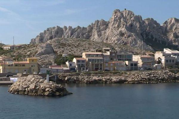 Le quartier des Goudes à Marseille