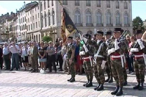 Les autorités civiles et militaires ont rendu hommage aux libérateurs et à la Résistance.