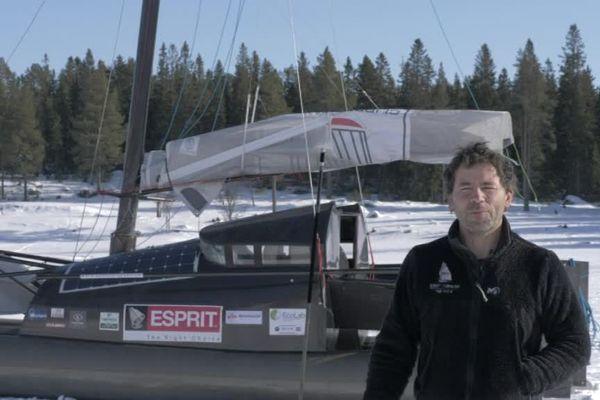 Sébastien Roubinet, le navigateur cévenol qui veut traverser le pôle Nord à la voile