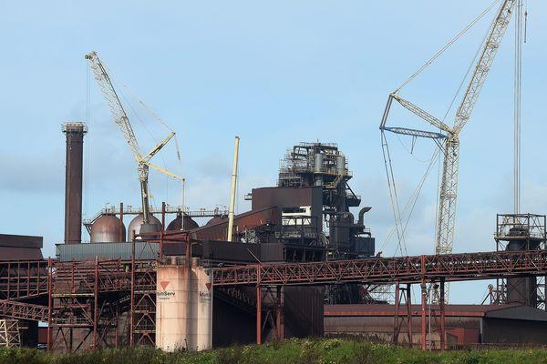Le site d'Arcelor, à Dunkerque.