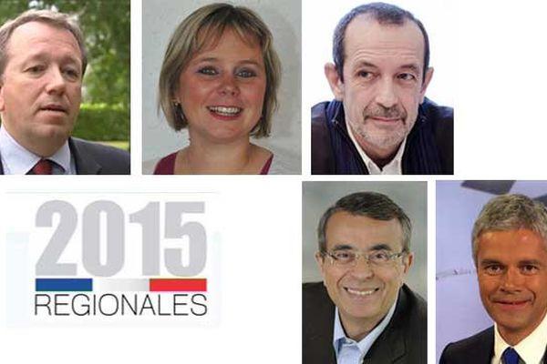 Régionales : premier grand débat avec Christophe Boudot , Cécile Cukierman, , Jean-Charles Kohlhaas, Jean-Jack Queyranne et Laurent Wauquiez