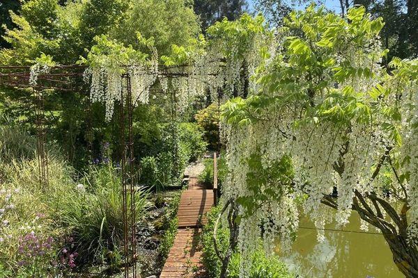Au Houlme, le jardin du peintre ouvre au public
