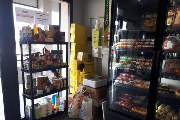 Dans cette boucherie gardoise, on collecte les denrées alimentaires pour les plus précaires.