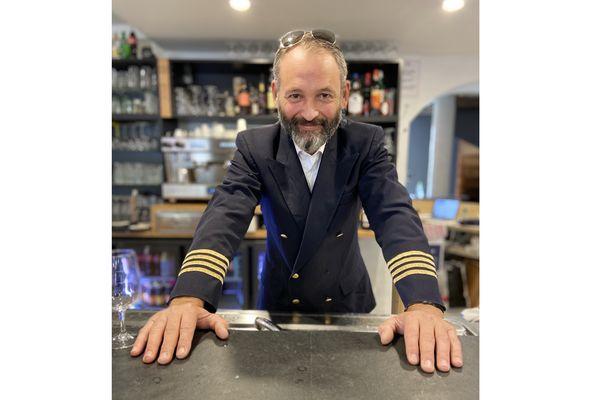 Olivier Courtois, l'ancien pilote devenu restaurateur dans le Tarn.