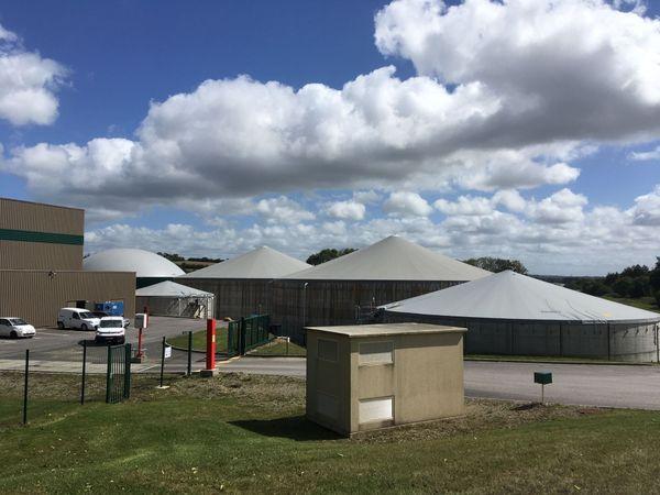 La centrale biogaz de Châteaulin est à l'origine de cette pollution de l'Aulne