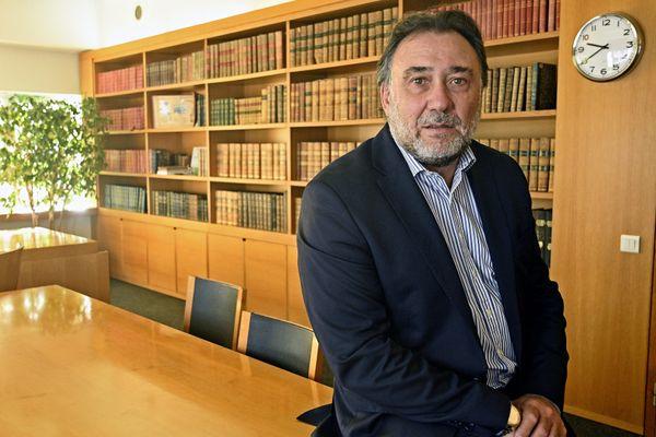 Thierry Gardon, président du tribunal de commerce de Lyon.