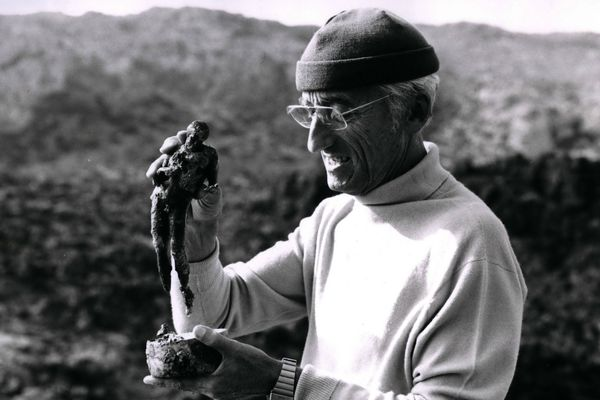 Le commandant Cousteau en 1960.
