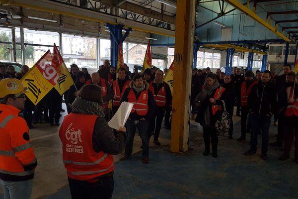 Tous les jours depuis le début du mouvement, les cheminots votent pour la poursuite ou non de la grève.