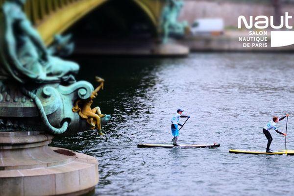 Nous serons avec un amateur de paddle parisien lors de nos directs Facebook ce mardi 5 décembre