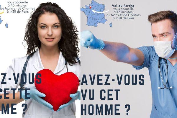 La commune de Val-au-Perche a lancé une campagne de communication pour trouver un médecin généraliste