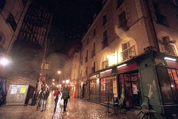 La rue Saint-Michel, aussi appelée rue de la Soif.