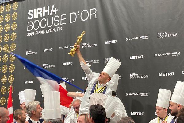 Le chef Davy Tissot s'est entraîné avec passion avec détermination pour en arriver là. Une fierté de faire gagner la France après 7 ans sans victoire.