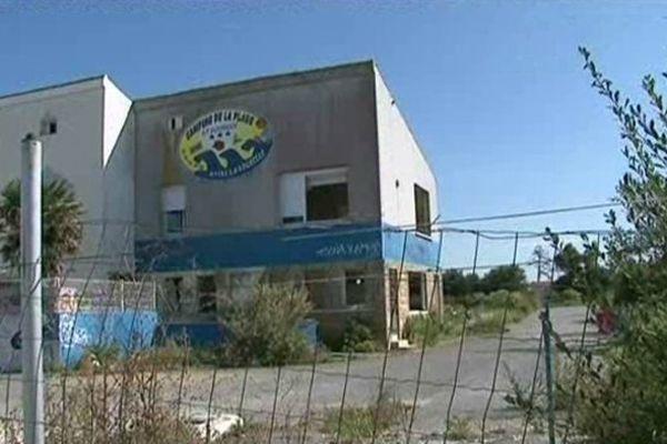 Le Camping de la Plage à Aytré dévasté par Xynthia en 2010.