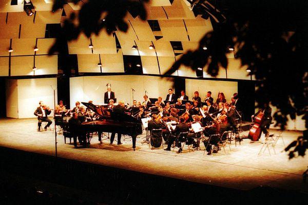 Festival international de piano de la Roque d'Anthéron (13).