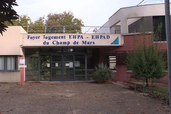 Les patients du foyer logement du Champ de Mars sont désormais confinés
