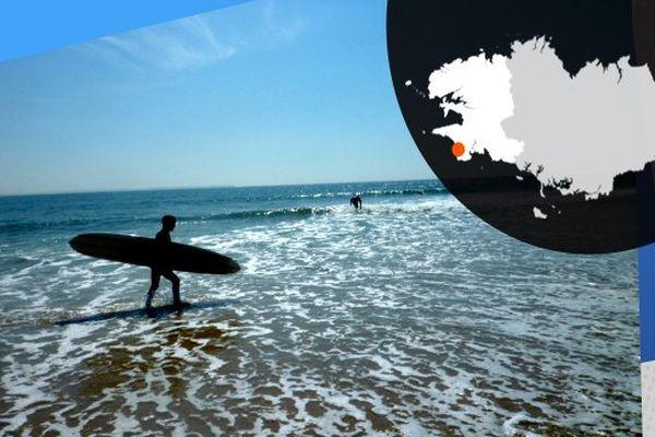 En Bretagne, on compte 1400 licenciés en surf