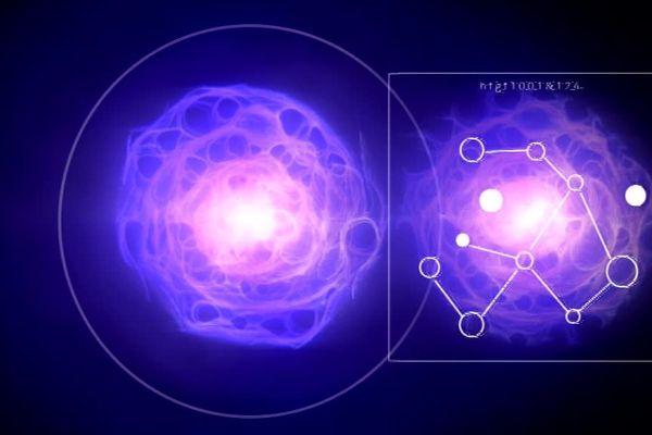 Femto-St utilise la lumière pour ses recherches en  intelligence artificielle ( vision d'artiste)