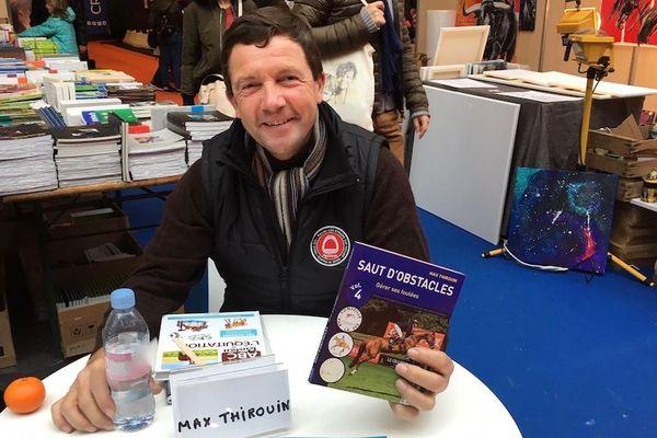 Max Thirouin vient de sortir le 4è tome de sa collection pédagogique sur le saut d'obstacles