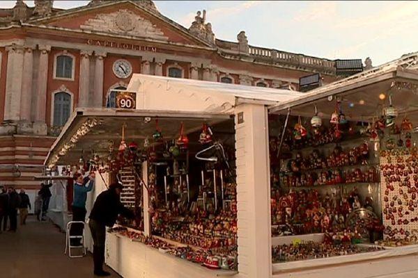 117 chalets ont été installés sur la Place du Capitole