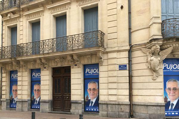 La permanence du maire sortant de Perpignan, Jean-Marc Pujol.
