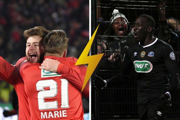 Le Vendée Les herbiers Football affronte le FC Chambly en 1/2 finale de la Coupe de France le 17 avril 2018