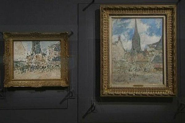 Un tableau d'Eugène Boudin aurait été attribué par erreur à Claude Monet.