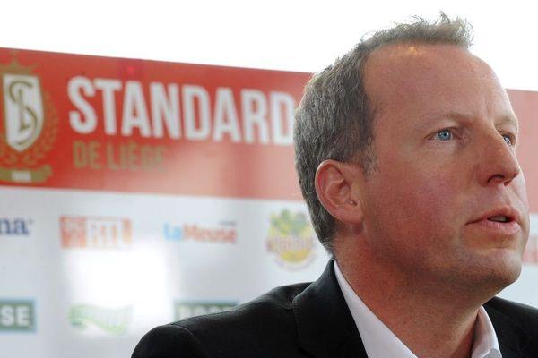 Bruno Venanzi, président du Standard de Liège, en 2015.