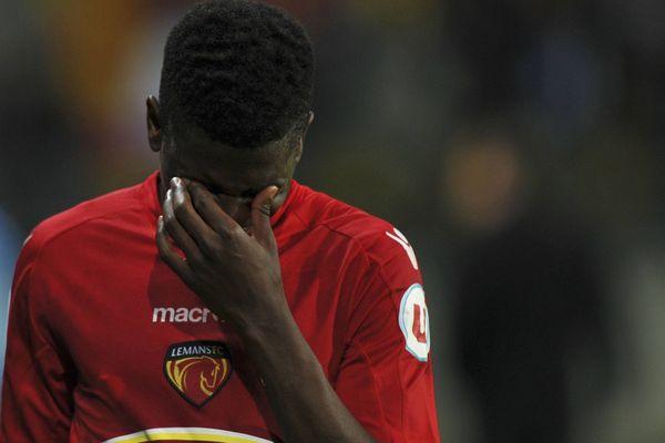 LE MANS FC - LE HAVRE la déception de Ekeng Ekeng