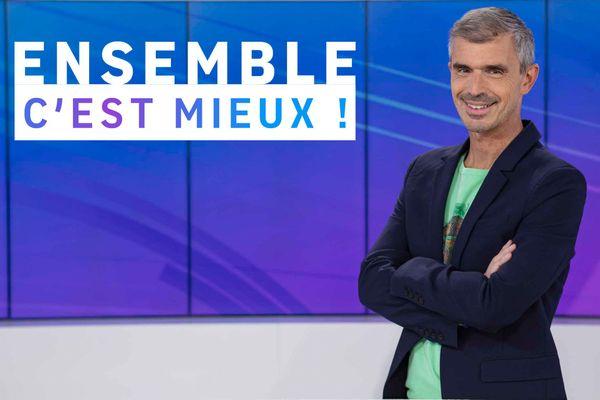 Patrice Gascoin, animateur de l'émission Ensemble c'est mieux en Normandie