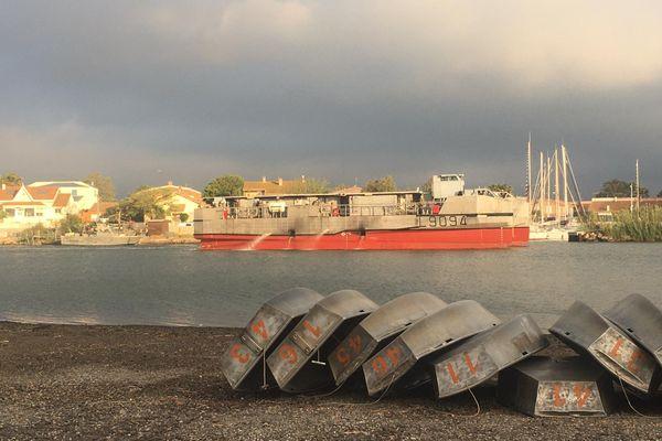 Valras-Plage - Les militaires s'entraînent à débarquer sur les côtes héraultaise - 01.06.21