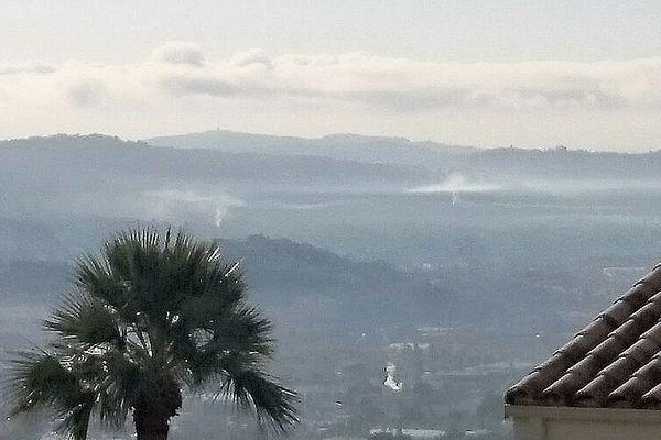 Malgré l'interdiction, de nombreux habitants des Alpes-Maritimes font des feux dans leurs jardins, ignorant l'arrêté préfectoral du 4 octobre 2017.