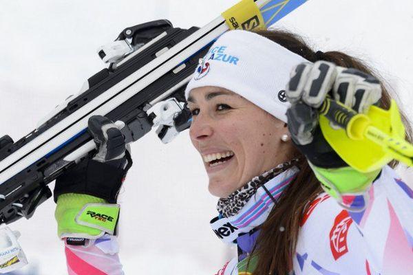Nastasia Noens met elle fin à une longue disette pour les skieuses françaises, qui n'avaient plus signé de podium, toutes disciplines confondues, depuis la saison 2013-2014.