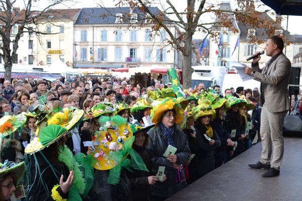 La Sainte-Catherine en 2014 à Vesoul