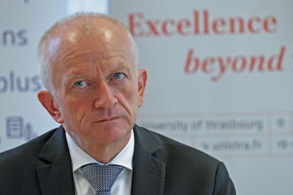 Le président de l'Université de Strasbourg, Michel Deneken s'engage contre la hausse des frais pour les étudiants étrangers. Photo d'archives.